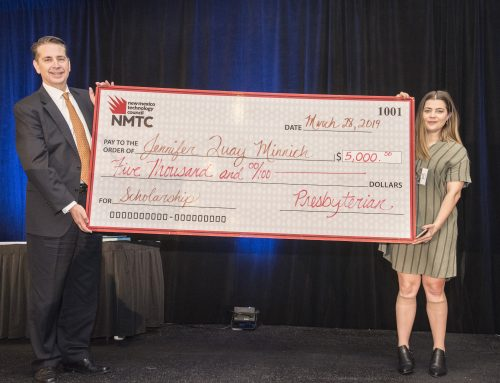 Jennifer Quay Minnich Receives a $5,000 Scholarship At The 2019 WIT Celebration