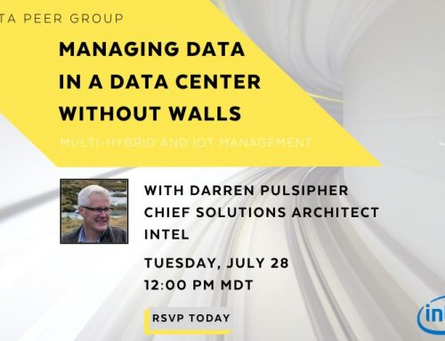 Big Data Peer Group | Managing Data in a Data Center Without Walls